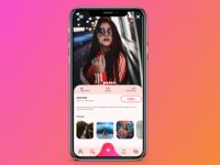 User Profile  UI concept