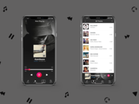 Music Player UI concept