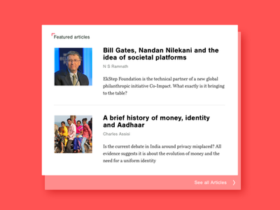 AadhaarEffect - Theme Page book serif font pair type on screen typography type news page magazin page news aadhaar