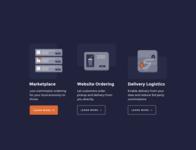 Icon design for marketing web site