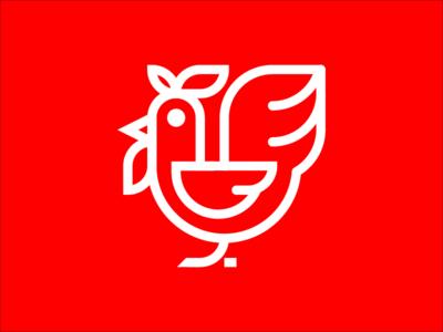 Chicken Icon Grid