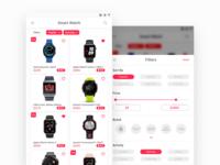 E - Commerce Concept - Smartwatch 1