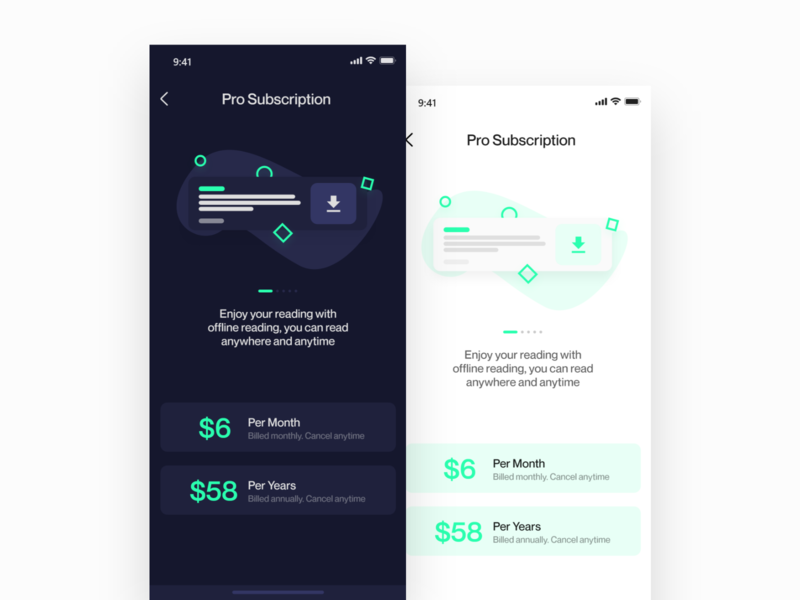 News Apps Pro Pricing Plan pricing page pricing plans pricing plan subscription pro interaction design ui ux uiux apps design illustration mobile app apps interaction ux ui design ui