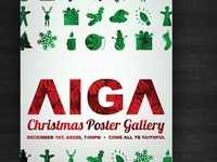AIGA Christmas Poster Gallery... Poster