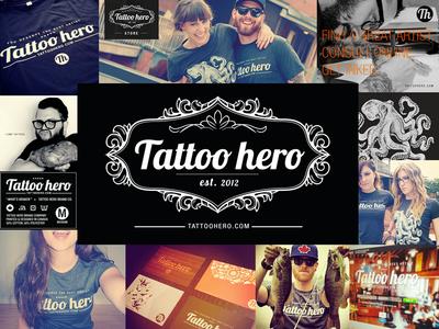 Tattoo Hero Branding