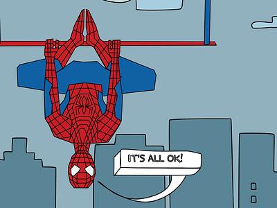 Spiderman spiderman graphic superheroes cartoon comic illustration