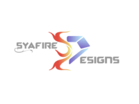 Syafire Designs Logo + Word Mark