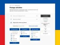 Postage calculator