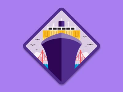 Big Shipper Merit Badge