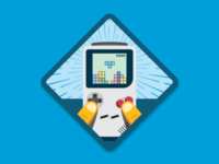 Tetris Master Merit Badge