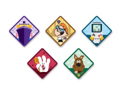 Merit Badges sticker merit badge illustration