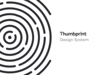Thumbprint Design System