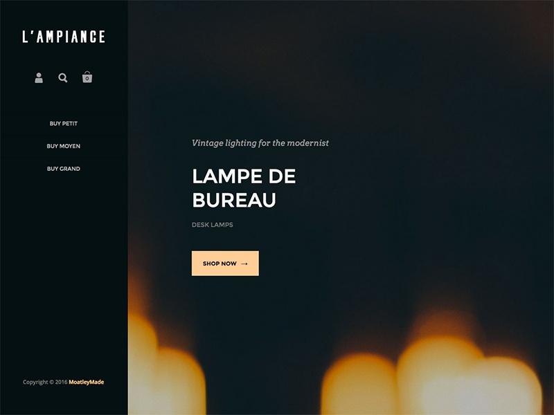 Orla Table Lamp NaturalBronze (934