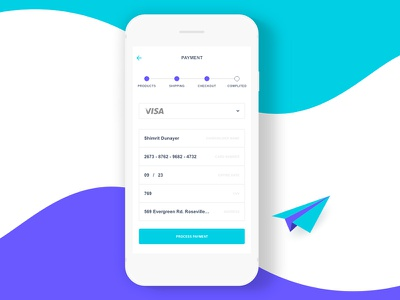 Daily UI #002 - Credit Card Checkout xd ui payment daily credit challenge card 002