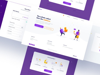 Webdesign pour Take off form design ui design template webdesign