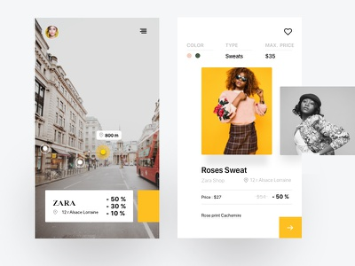 Shopping App sketchapp shop shopping user experience mobile ui design reality augmented