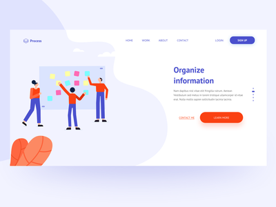 Process Design teamwork web designers app ui design ui design illustrations header flat design colors user experience sketchapp