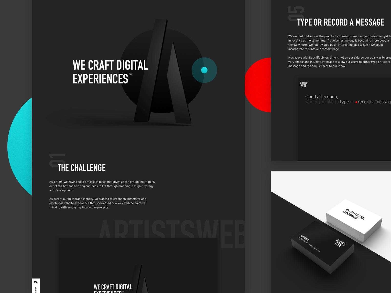 Artistsweb case study