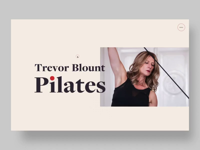 Trevor Blount Pilates // Website
