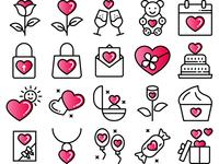 Valentines Day 2 Red 2 White