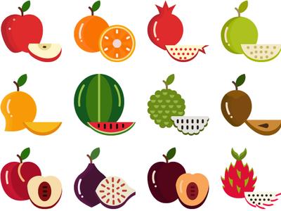 Fruits Color
