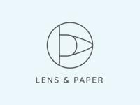 Logo Lens & Paper
