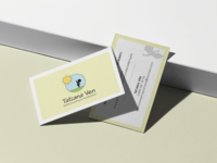 Business cards for someone that works with children
