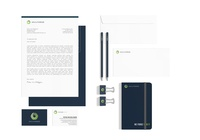 Corporate identity IT company