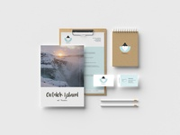Corporate identity for a travel agency