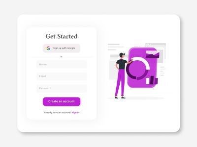 Sign Up Form Daily UI Challenge #1 daily ui ui web web design ui user interface design user interface sign up form sign up ui ui web design ui design