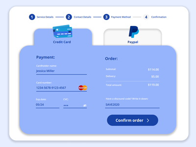 Credit Card Checkout Daily UI Challenge #2 ui web creditcard checkout design ui design daily ui