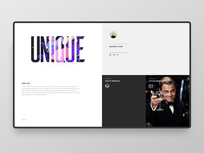 Portfolio Website webdesign ui corporate branding design branding