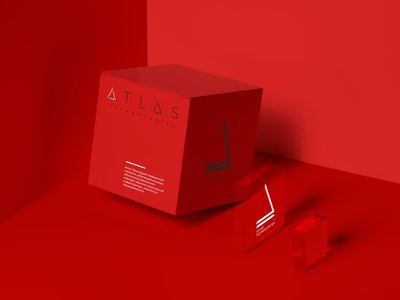 Atlas Branding typography corporate branding logo branding design