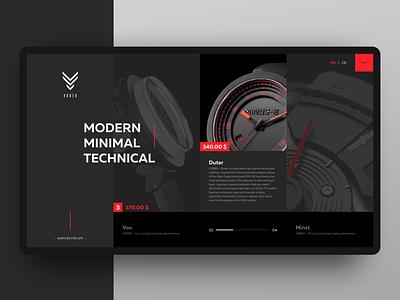 Vober Website layout design typography corporate branding webdesign ui
