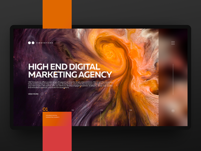 Vinovations UI identity ux typography dark corporate branding styleguide strategy branding home website webdesign design ui