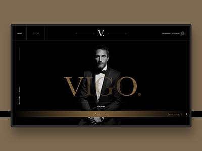 VIGO Web UI ui branding design
