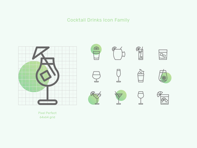Icon Family // Cocktail Drinks