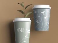 Hot Cup Design // Nail 2 U Branding