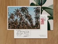 Postcard Design // Isla Cabana
