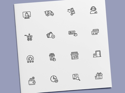 Shopping Icons purchase buy shop store ecommerce shopping icon set icon design icons icon