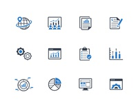 Business Report Icons