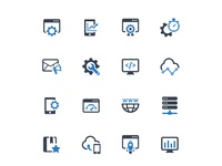 Networking & Web Development Icons