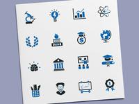 Education & Training Icons
