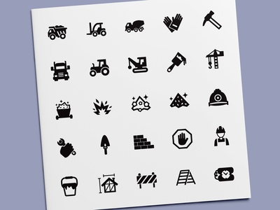 Construction & Mining Icons