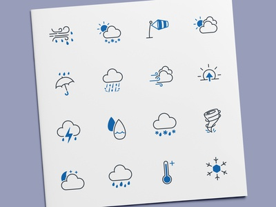Weather & Climate Icons