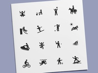 Sports & Activities Icons