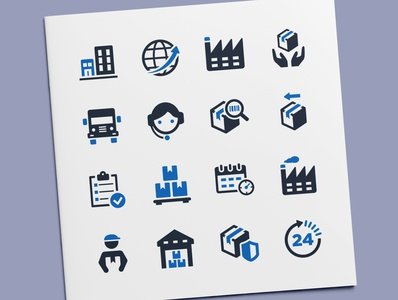 Delivery & Shipping Icons