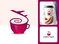 Coffee Flight Logo Design