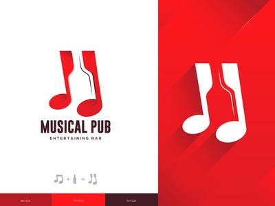 Musical Pub Logo Design