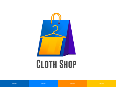 Cloth Shop Logo Design